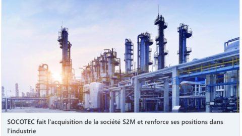 Lintax Société d'Avocats assists Socotec group for the acquisition of S2M